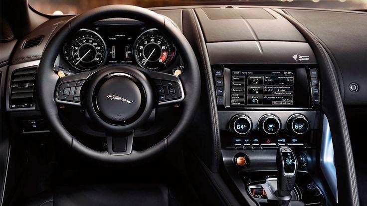 2015 jaguar f type r coupe interior cockpit wallpaper jaguar pinterest interiors jaguar - Jaguar f type r coupe interior ...