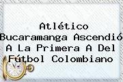 http://tecnoautos.com/wp-content/uploads/imagenes/tendencias/thumbs/atletico-bucaramanga-ascendio-a-la-primera-a-del-futbol-colombiano.jpg Atletico Bucaramanga. Atlético Bucaramanga ascendió a la Primera A del fútbol colombiano, Enlaces, Imágenes, Videos y Tweets - http://tecnoautos.com/actualidad/atletico-bucaramanga-atletico-bucaramanga-ascendio-a-la-primera-a-del-futbol-colombiano/