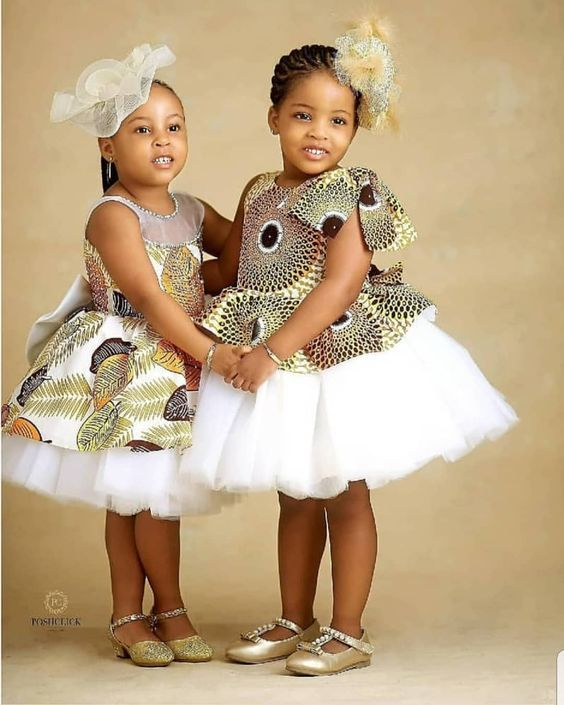 Lovely Ankara Styles for Kids