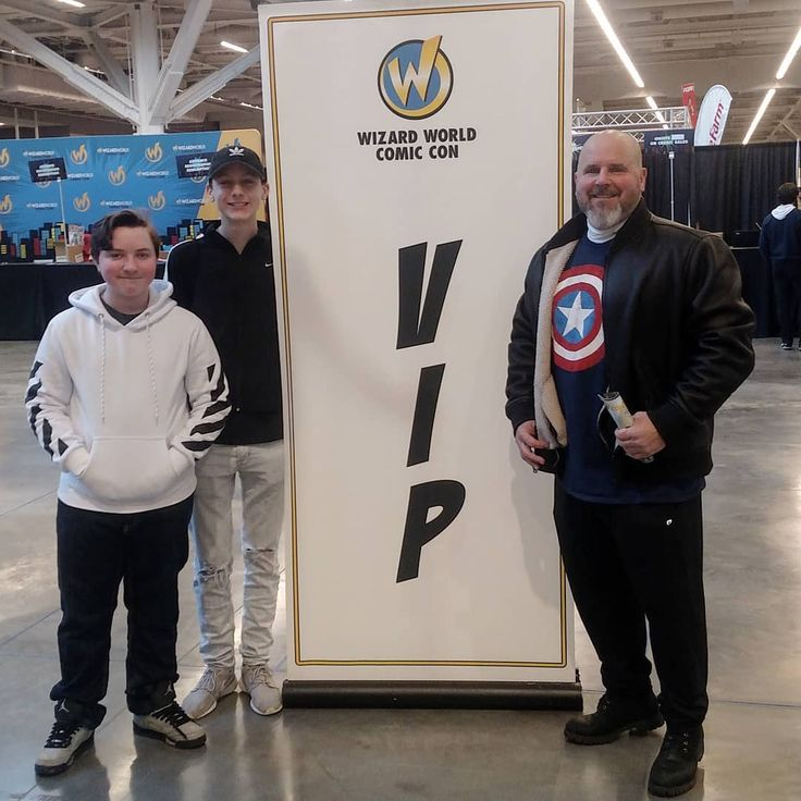 The Boys & Me Wizard World V I P's #pic #kids#instalike#family#goodtimes#fun #beard#cleveland#comics#event#cool #beardgang#son#kidsofinstagram#vip #c#downtown#wizardworld#lovethis#1 #bald#superheroes#comicbooks#photo #clegram#captainamerica#cle#thisiscle - Use code witblade at checkout for 10% off Wizard World 2018 tickets!