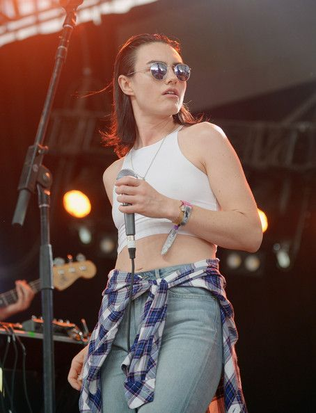 Isabella Manfredi Singer Isabella Manfredi of The Preatures performs with Classix onstage during day 3 of the 2014 Coachella Valley Music & Arts Festival at the Empire Polo Club on April 13, 2014 in Indio, California.