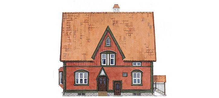 Gysinge : Färger för trähus - Färgsättning tidsperiod1750 - 1950 - Tips och hjälp när du gör det själv
