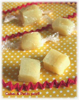 Bonbons de compote de pommes pour bébé