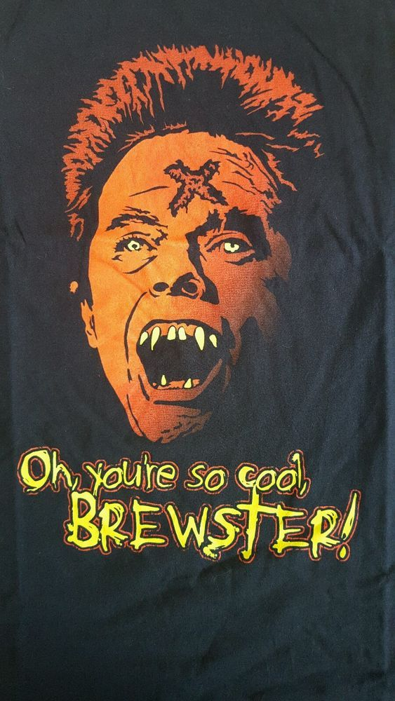 rare fright night fright rags shirt xl new 80's horror   from $13.0