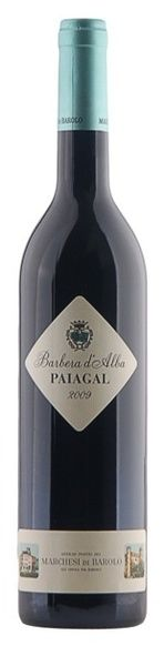 In stock - 27,45 € 2009 Marchesi di Barolo Barbera d´Alba Paiagal, red dry , Italy - 88pt Deep ruby-red colour, fruity and slightly spicy aroma enriched by pepper, cane sugar and chesnuts. Taste is very attractive and spicy with good balance between acidity, which cause fruitiness of this wine, and between tannins, which make this wine so nicely astrictive in aftertaste.