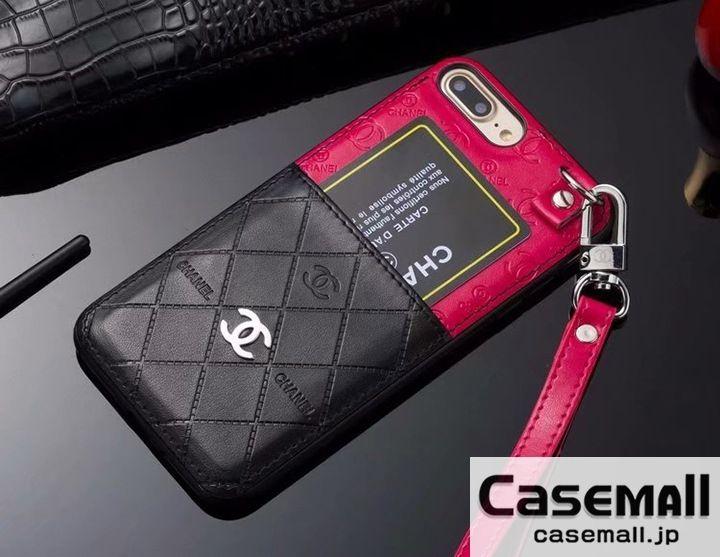 背面カード収納 ストラップ付き Galaxy S8 S9も対応 機能的