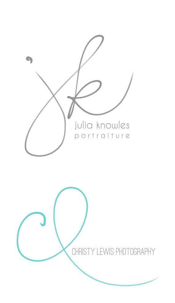 Handwritten Initials Custom Logo photoshop brush by PixelPolish, $49.50                                                                                                                                                      More