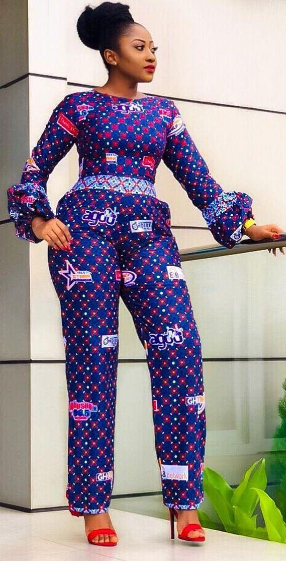 African fashion jumpsuit, African fashion, Ankara,…