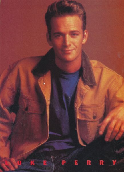 LUKE PERRY pinup - Jeans! THE WEBBERS DYLAN MCKAY ZTAMS - ZTAMS
