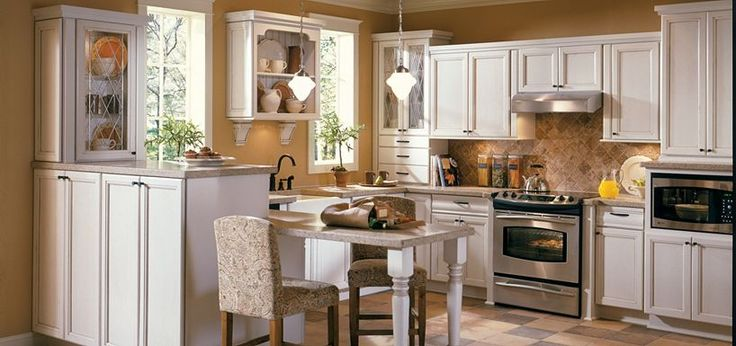 beige glazed kitchen cabinets  Google Search