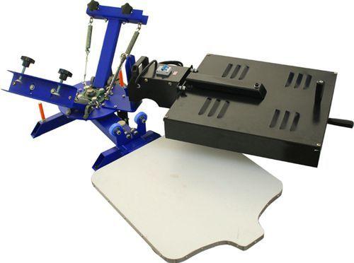 Máquina de serigrafia manual / de 2 colores / para listones de madera / rotativa RSP-102FD110V LC Printing Machine Factory Limited