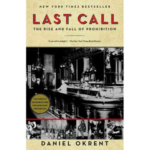 Last Call: The Rise and Fall of Prohibition. Fascinating reading about the rise of the temperance movement, the political and social landscape that fostered the prohibition amendment, and the factors that led to the downfall of the amendment.
