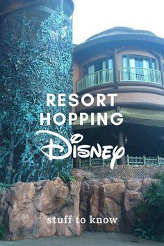 How to Resort Hop at Walt Disney World