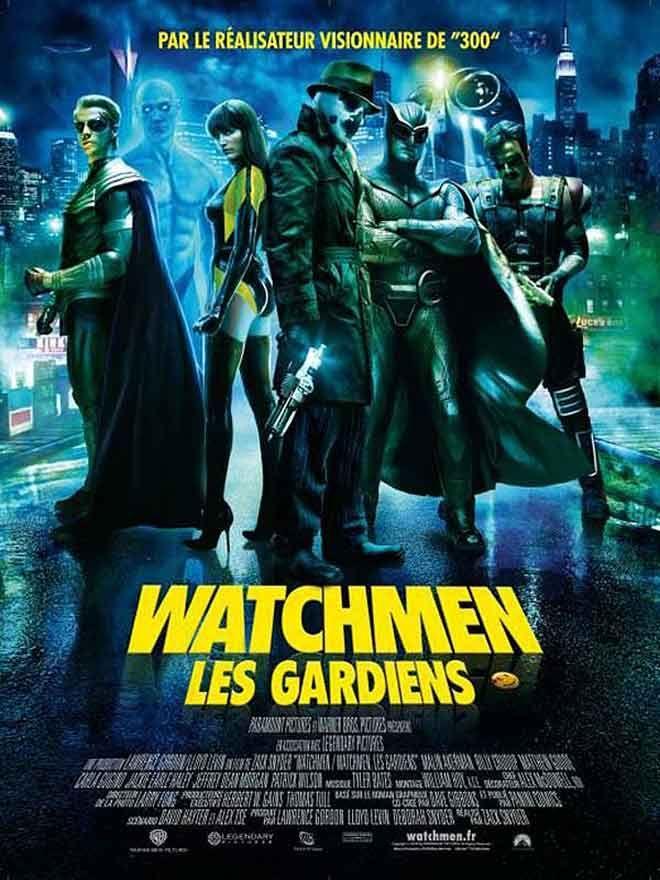 Watchmen- Les Gardiens - Affiche France