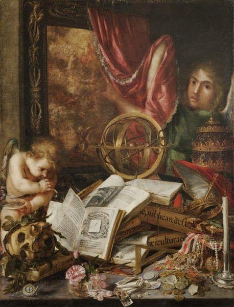 Juan de Valdés Leal - Alegoría de la vanidad - 1660