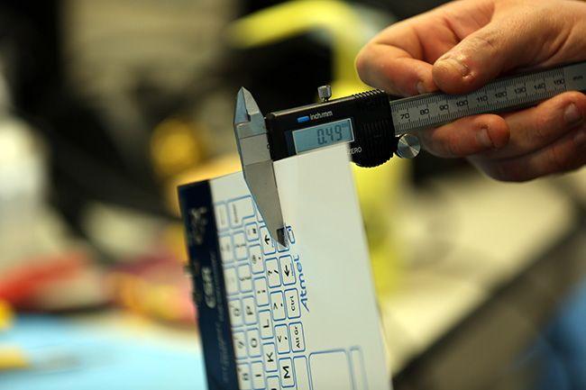 Maak kennis met het dunste toetsenbord ter wereld