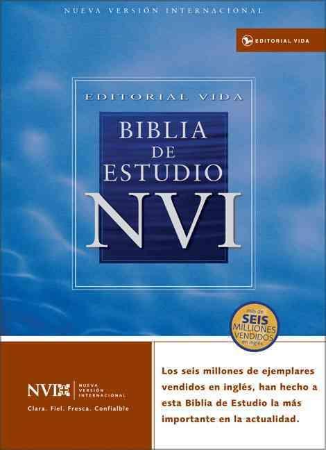 Biblia De Estudio NVI / NVI Study Bible: Nueva Version Internacional, Imitacion Piel Fina