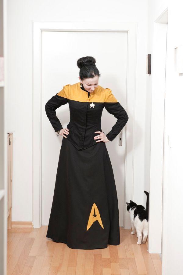 Victorian-style Star Trek uniforms