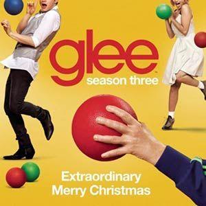 Letra y Vídeo de la canción Extraordinary Merry Christmas de Glee Canciones y villancicos para Navidad