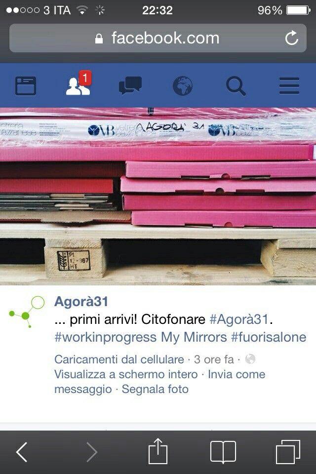 #mymirrors #fuorisalone #milanodesignweek #agorà31 #viatortona31
