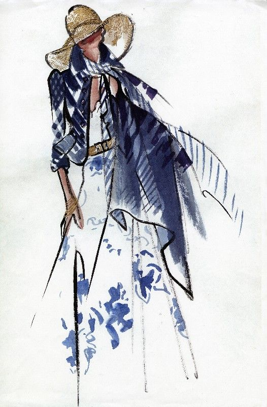 Ralph Lauren | Pinned from the Fashion illustration Board of Mimi on Pinterest. http://www.pinterest.com/chicypeachy/fashion-illustration/