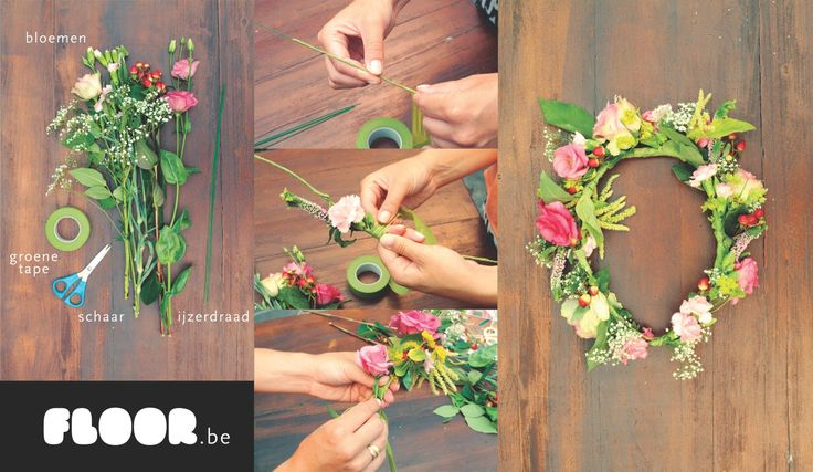 DIY. Zelf een bloemenkrans maken voor het Festivalseizoen.