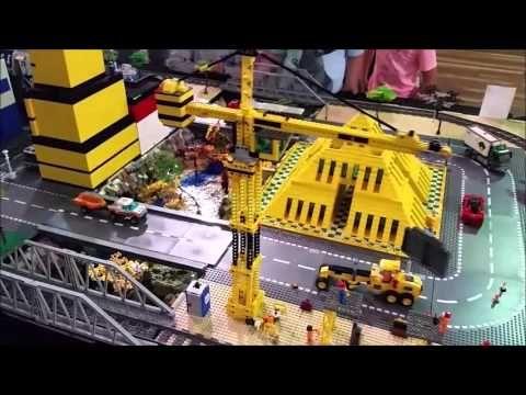 LEGO Rainbow City - BrickFest at the Bay 2016 #Rainbow_Bricks #lego #legoaustralia #legoaussiemoc