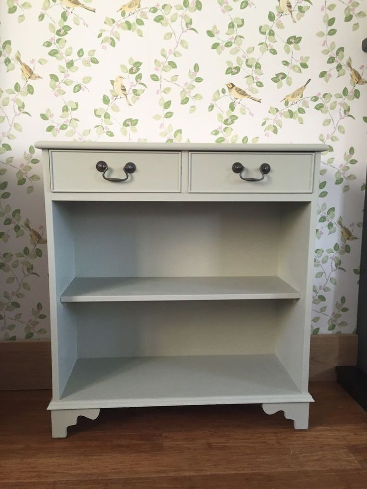Sweet Hand Painted Country Hall Occasional Console Table ~ Farrow & Ball ~ | eBay