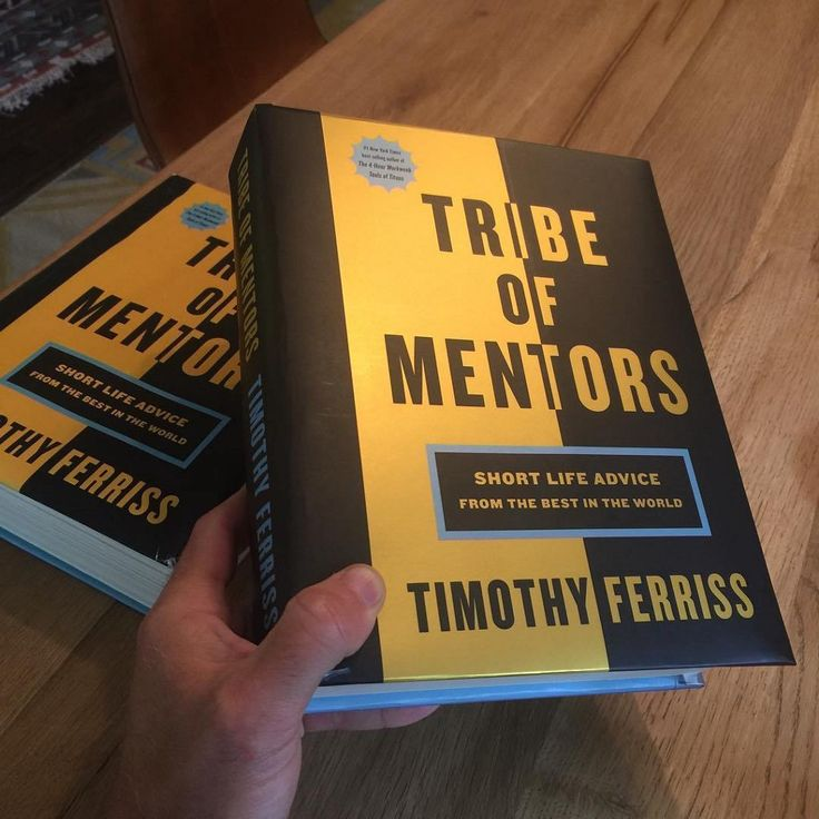 7 things I learned from Tribe of Mentors by Peter Shepherd - Pictured here are two copies One to be used as a doorstop and one to beread Book reviews.  As a student at school I couldnt stand them. And yet here we are 15 years later on a Sunday and Im writing one for the latest book Iread.  At least Mr Pitfield would beproud.  Alas having just consumed Tim Ferriss latest beast of a book where he asked the same 11 questions to over 100 of the worlds elite I felt compelled to share some of…