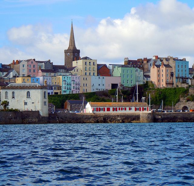 ~ the town of little fishes ~Tenby, Pembrokeshire, Wales, UK ~ can't wait to call it home sweet home ~