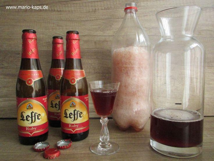 """Eisbock – die """"Essenz des Bieres"""" selber herstellen - Mario´s Fire Food & Fine Food Impressum: http://www.mario-kaps.de/impressum/"""