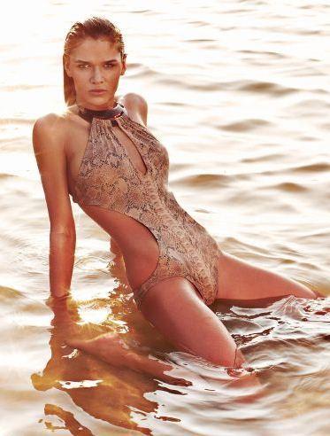 Aqua Di Lara Swimwear + Germany's Next Top Model