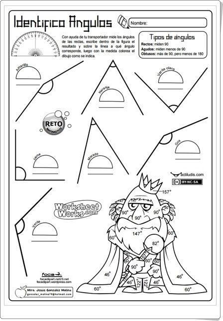 """""""Identifico ángulos"""" (Geometría de Educación Primaria)"""