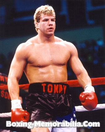 Tommy Morrison (January 2, 1969 - September 1, 2013) American bokser and actor (Rocky V -1990).