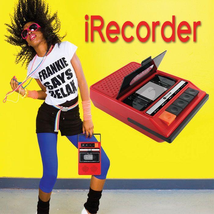 Magnétophone rétro pour iPhone Ecoutez la musique en mode vintage !