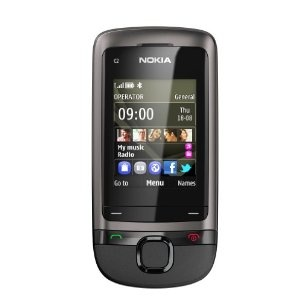 #Nokia C2-05 Sim Free Mobile Phone - Dark Grey    Like, Share, Pin! Thanks :)
