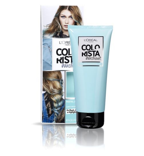 Hair Colour || Colorista Washout- Aqua Hair (for blonde, ombre or highlights)
