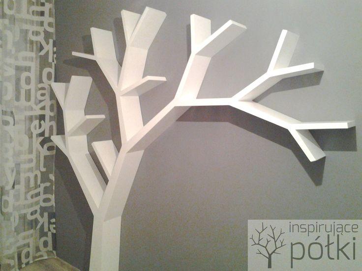 Półka jak drzewo 210x210x18cm Nasza realizacja Koszt od 1 000zł