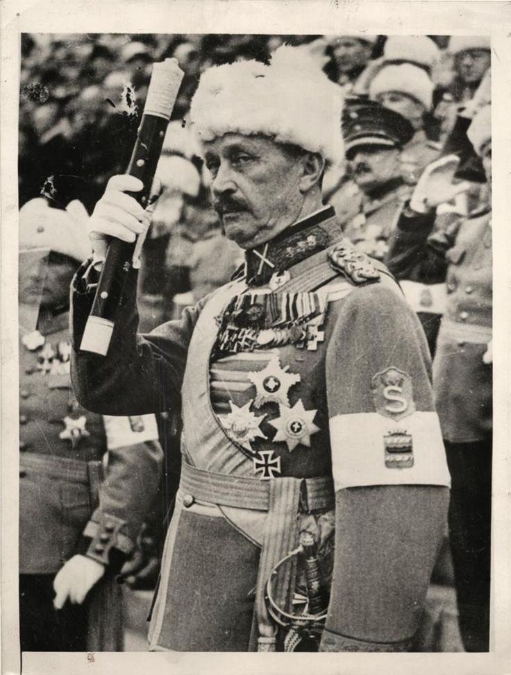 1939- Field Marshal Gustaf Mannerheim of Finland. Note he is wearing Iron Cross bestowed on him by Kaiser Wilhelm for heroic service during WWI.