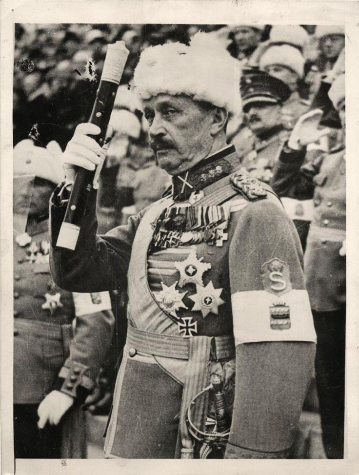 WWII Finnish War Hero Field Marshal Gustaf Mannerheim ...