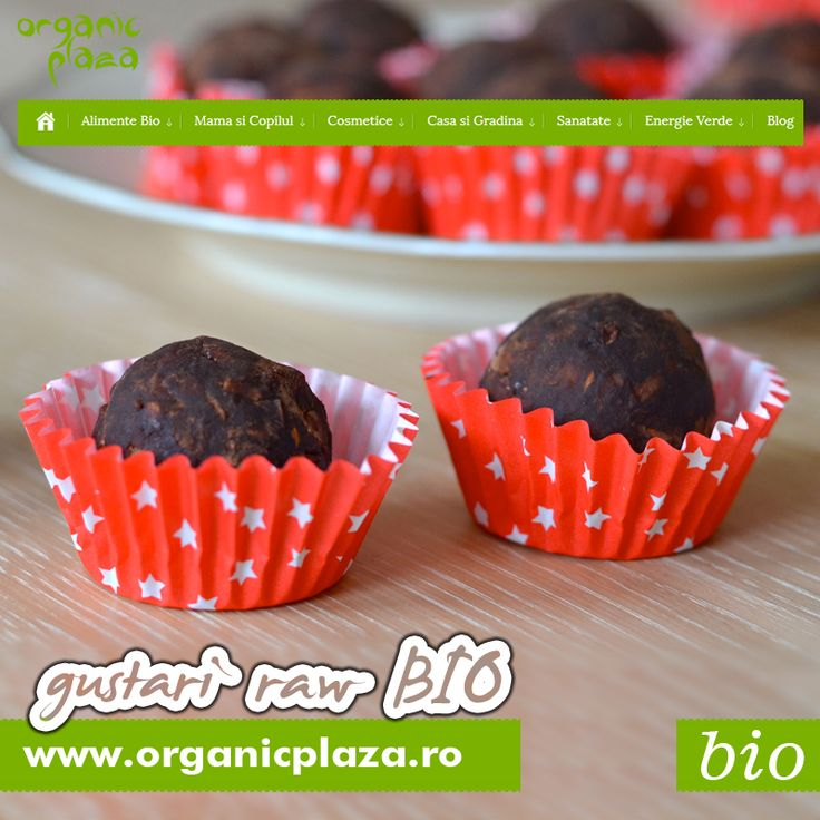 Dulciuri Raw Bio Descopera-le mai jos: http://organicplaza.ro/dulciuri-raw