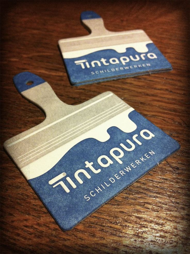 A card you won't forget. TintaPura letterpress business card