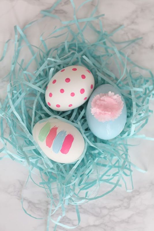 Get The DIY Instructions On These Adorable Easter Eggs Painted With Martha Stewart Crafts Paint From