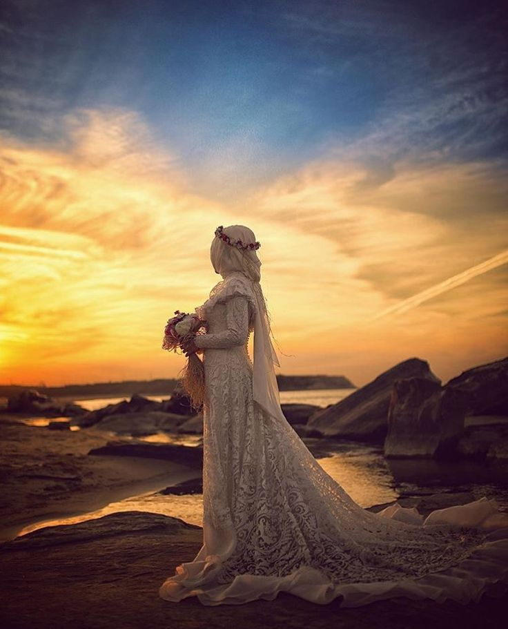 Beautiful muslim bride / Bekirsozakphotography Beauty muslim bride # peçe nikab nikap nikabis kapalı çarşaf hicab hijab tesettür wedding düğün gelin