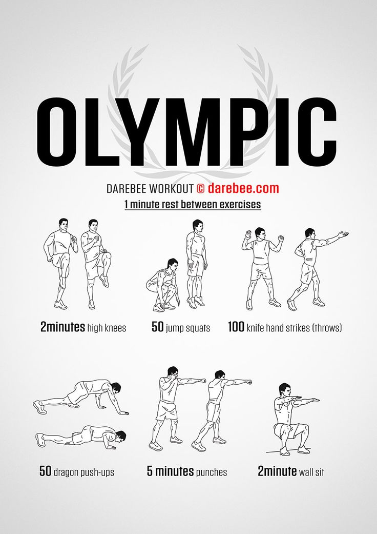 The Olympic Workout #darebee #fitness #olympics