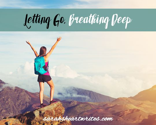 Finding contentment involves letting go.  It isn't easy and it isn't a well trodden path, but it can be done.  Let's do it together - let's let go and breathe deep xx