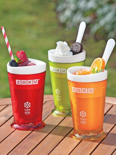 Single-Serve Slushy Maker - Zoku Slush & Shake Maker for frozen treats | Solutions