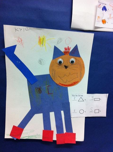 Pete the Cat: shapes