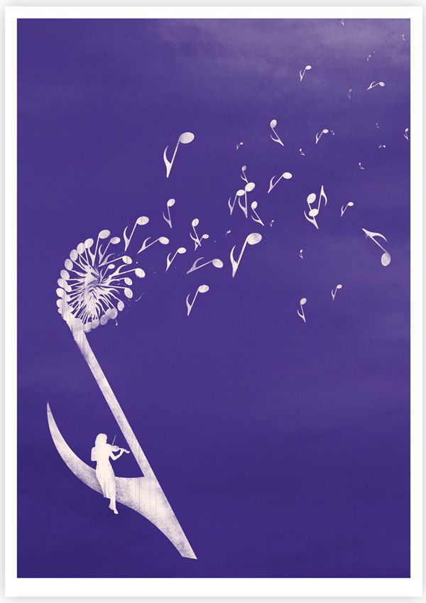 Gone With The Music, #artwork by Tang Yau Hoong.
