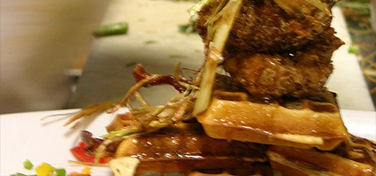 Hash House A Go Go - The food was delicious in insanely large portions and I would not have it any other way.